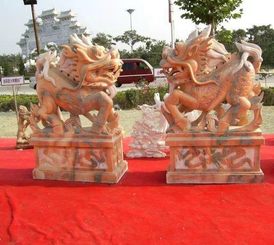 > 最新动态  石雕麒麟是古代的仁兽,集龙头,鹿角,狮眼,虎背,熊腰,蛇鳞